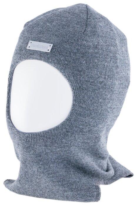 41807K-55 Шлем из 100% шерсти, бордовый для девочек