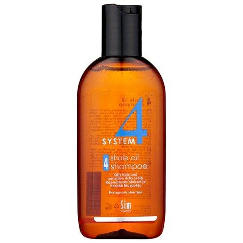 Sim Sensitive SYSTEM 4 Shale Oil Shampoo 4 Терапевтический шампунь № 4 для очень жирной, чувствительной и раздраженной кожи головы 100 мл