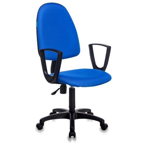 Компьютерное кресло Бюрократ CH-1300N офисное, обивка: текстиль, цвет: синий офисное кресло бюрократ ch 1300n