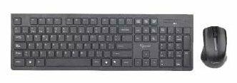 Клавиатура и мышь Gembird KBS-WCH-01-RU Black USB