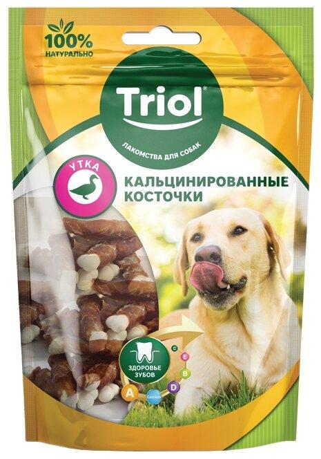 Лакомство для собак Triol Кальцинированные косточки