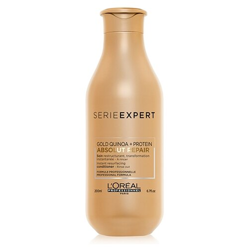 L'Oreal Professionnel кондиционер Serie Expert Absolut Repair Gold Quinoa + Protein, 200 мл абсолют липидиум двухфазная сыворотка 30 мл loreal professionnel absolut repair lipidium
