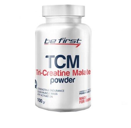 Be First TCM Tri-Creatine Malate Powder • 100 г • Unflavored / Без вкусовых добавок