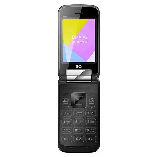 Телефон BQ 2816 Shell, черный мобильный телефон bq 2816 shell gold