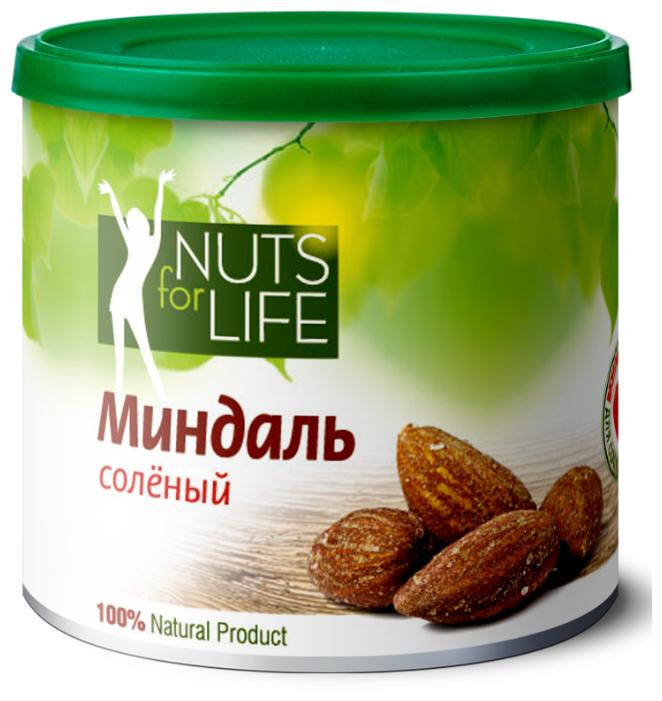 Миндаль соленый - Nuts for life