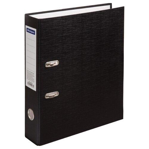 Купить OfficeSpace Папка-регистратор A4, бумвинил, 70 мм черный, Файлы и папки