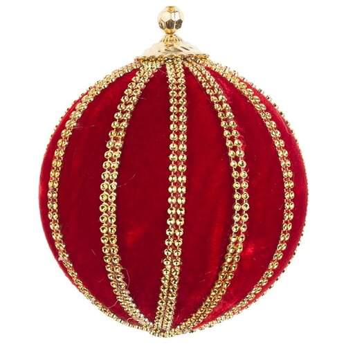 Набор шаров KARLSBACH 09141, красный/золотой