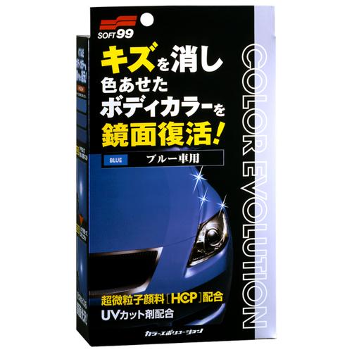 цена на Воск для автомобиля Soft99 жидкий Color Evolution Blue для синих оттенков кузова 0.1 л