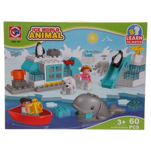 Купить Конструктор Kids home toys Ice World Animal 188-81, Конструкторы