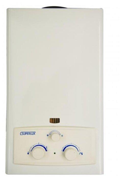 Проточный газовый водонагреватель SUPERLUX DGI 10L CF NG — купить по выгодной цене на Яндекс.Маркете