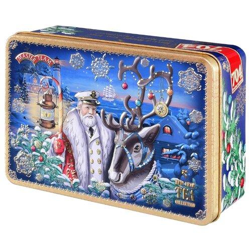 Чай черный Master Team Новогодняя Сказка подарочный набор, 250 г набор форм новогодняя сказка bradex набор форм новогодняя сказка