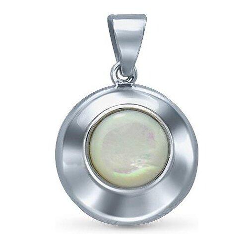цена на Silver WINGS Подвеска с перламутром из серебра 23set15675a-113