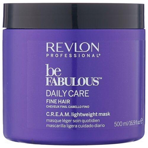 Revlon Professional Be Fabulous Маска для тонких волос, 500 мл revlon кондиционер для тонких волос be fabulous 750 мл