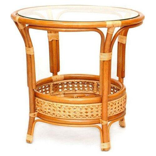 Стол ЭкоДизайн Пеланги 02/15А коньячный комплект плетеной мебели экодизайн пеланги 02 15 1