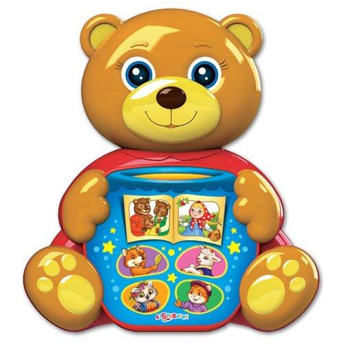 Развивающая игрушка Азбукварик Любимая сказочка Мишка косолапый коричневый/голубой развивающая игрушка 52431 коричневый