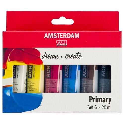 Купить Royal Talens Набор акриловых красок Amsterdam Standart 6цв*20мл стартовый, Наборы для рисования