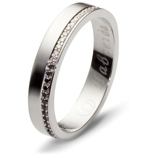 Эстет Кольцо с 58 бриллиантами из белого золота 01О620132, размер 18