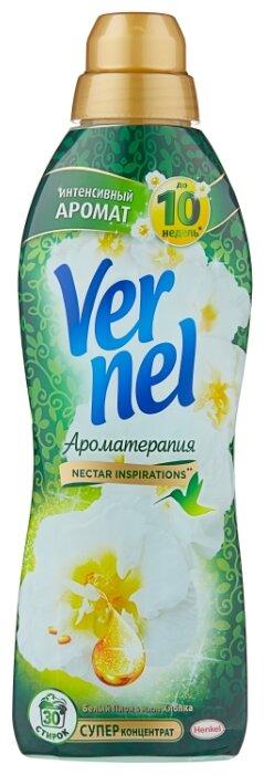 Купить Vernel Концентрированный кондиционер для белья Ароматерапия Пион и хлопок, 0.91 л, флакон по низкой цене с доставкой из Яндекс.Маркета