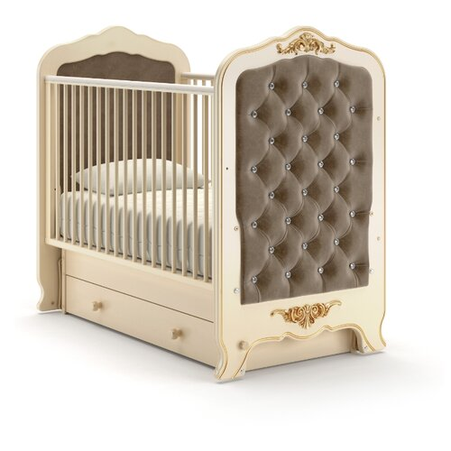 Кроватка Nuovita Fulgore (качалка), поперечный маятник слоновая кость кровати для подростков nuovita fulgore lungo