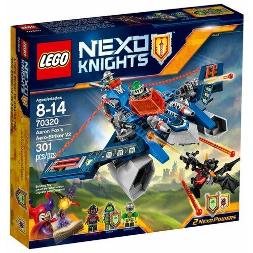Конструктор LEGO Nexo Knights 70320 Аэроохотник Аарона, Конструкторы  - купить со скидкой