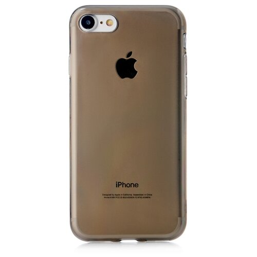Чехол-накладка uBear Soft Tone для Apple iPhone 7/iPhone 8 grey чехол накладка ubear touch case для apple iphone 7 iphone 8 cream