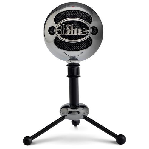 Микрофон Blue Snowball, серебристый