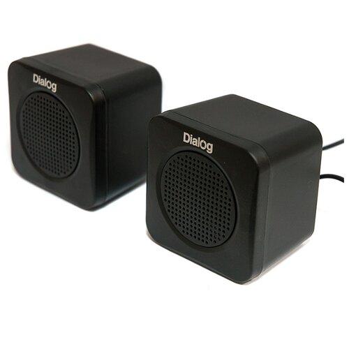 цена на Компьютерная акустика Dialog AC-01UP black