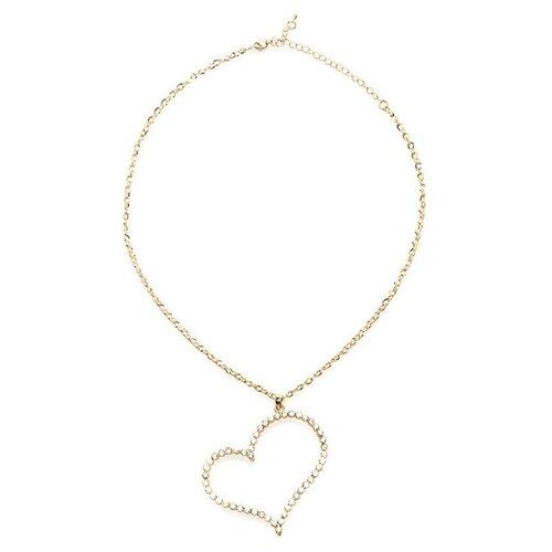 цена на Ann Devine Цепочка с большой подвеской-сердцем Sweet Heart Pendant Necklace
