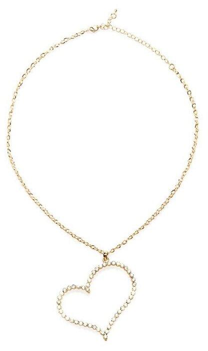 Ann Devine Цепочка с большой подвеской-сердцем Sweet Heart Pendant Necklace