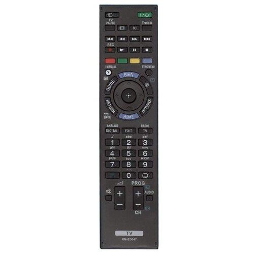 Фото - Пульт ДУ Huayu RM-ED047 для телевизоров Sony KDL-40HX758/KDL-40HX751/KDL-40HX750/KDL-40HX755/KDL-40HX754/KDL-40HX753 черный коврики в салон автомобиля sv design для daewoo nexia 1995 1903 unf3 15n текстильные черный