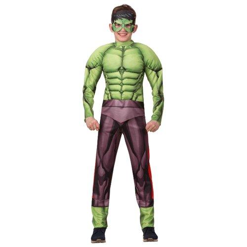 Купить Костюм Батик Халк (1907), зеленый, размер 146, Карнавальные костюмы