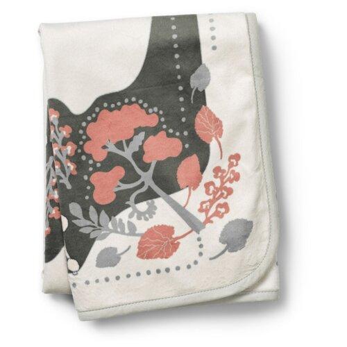 Купить Плед Elodie Rebel poodle 75х100 см Vanilla White, Покрывала, подушки, одеяла