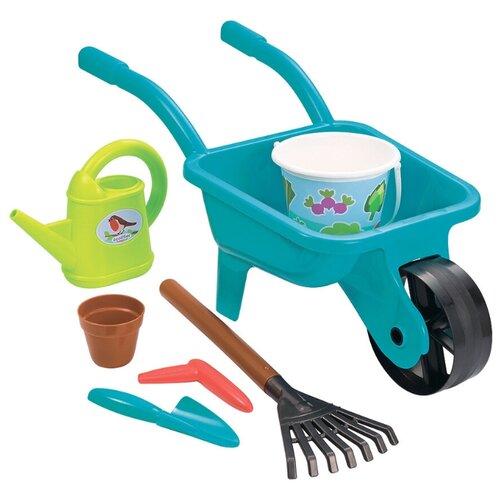 Купить Детская садовая тачка с лейкой и акс Ecoiffier ECO4558, Наборы в песочницу