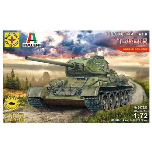 Купить Сборная модель Моделист Советский танк Т-34-85 307223 1:72, Сборные модели
