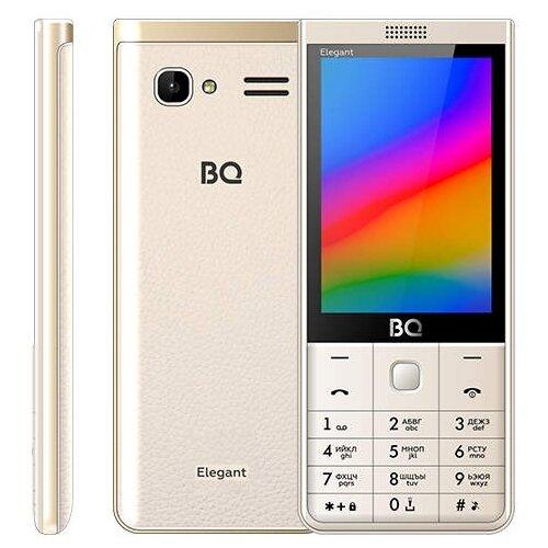 Телефон BQ 3595 Elegant золотой телефон