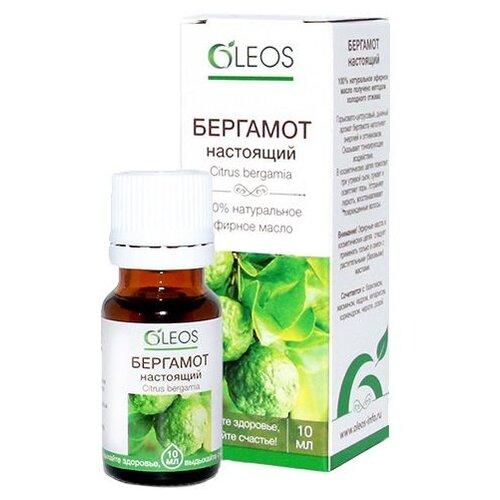 OLEOS эфирное масло Бергамот настоящий 10 мл oleos эфирное масло грейпфрут 10 мл