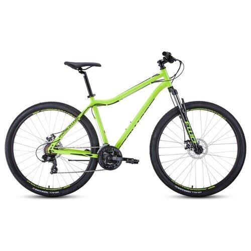 Горный (MTB) велосипед FORWARD Sporting 29 2.0 Disc (2020) зеленый/черный 21