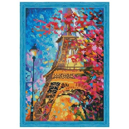 Алмазная вышивка Цветной Весной в Париже, 40x30