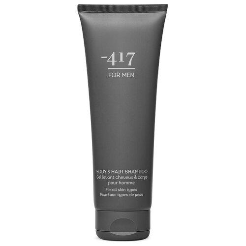 Minus 417 Мужской шампунь для тела 2 в 1: шампунь и гель для душа Body Shampoo For Men, 250мл