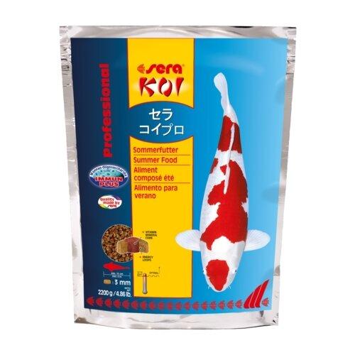 Сухой корм для рыб Sera Koi Professional лето 2200 г