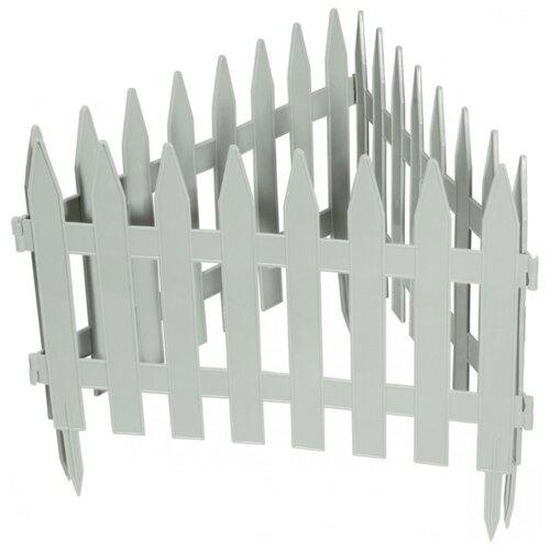 Забор декоративный PALISAD Рейка, белый, 3 х 0.28 м