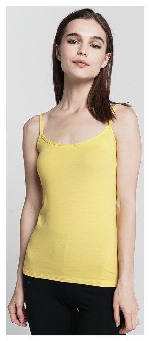 Купить Майка ТВОЕ 62734 размер S, светло-желтый по низкой цене с доставкой из Яндекс.Маркета (бывший Беру)