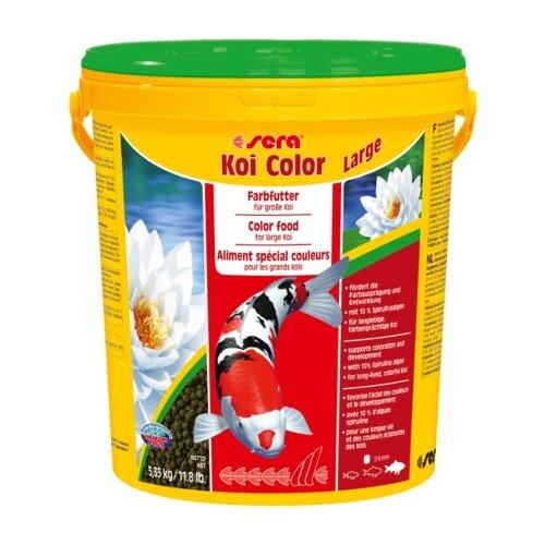Сухой корм для рыб Sera Koi Color Large 21000 мл 5350 г