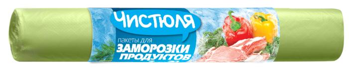 Купить Пакеты для замораживания Чистюля , 32 см х 25 см, 3 л, 30 шт, зеленый по низкой цене с доставкой из Яндекс.Маркета