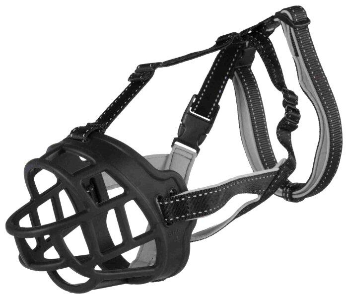 Намордник для собак TRIXIE Muzzle Flex M-L 17613, обхват морды 26 см