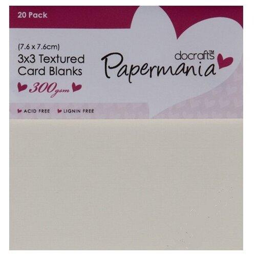 Набор заготовок для открыток и конверты, 20 шт, кремовый DOCRAFTS, 7,6 х 7,6 см 20 шт PMA151001
