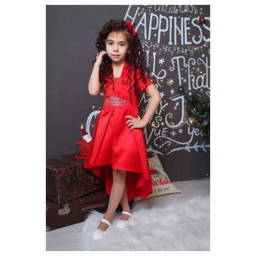 Платье Ladetto размер 28-110, красный платье oodji ultra цвет красный белый 14001071 13 46148 4512s размер xs 42 170