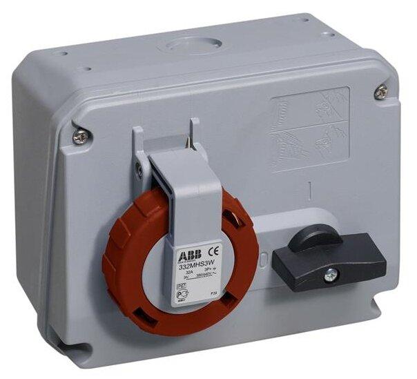 Розетка силовая (CEE) стационарная ABB 2CMA167853R1000