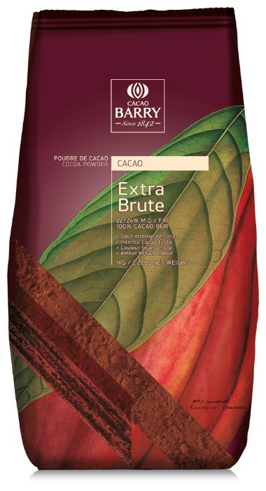 Cacao Barry Какао-порошок растворимый алкализованный Extra Brute, пакет
