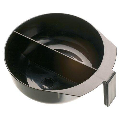 DEWAL Pro Чаша для окрашивания с ручкой и перегородкой T-1207 750 мл черный